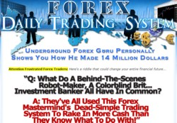 ForexDailyTradingSystem.com Membership Pays 75% Recurring Affiliate Commissions For 12 Months
