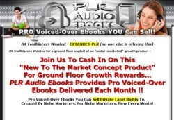 PLRAudioebooks.com Membership Pays 75% Recurring Affiliate Commissions