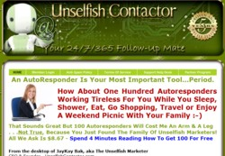 UnselfishContactor.com Membership Pays 50% Recurring Affiliate Commissions