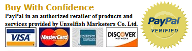 The Unselfish Marketer buy with confidence PayPal guarantee